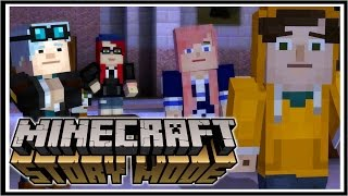 Minecraft STORY MODE Episode 6 | A PORTAL TO MYSTERY  [2/3]