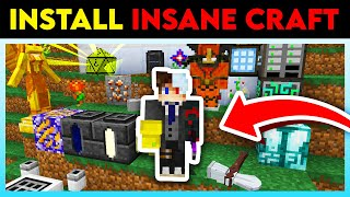How To DOWNLOAD *INSANE CRAFT* (Installation Guide)