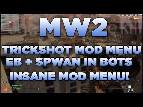 MW2 Trickshot Mod Menu (EB + Spawn Bots) TSD Mod Menu PC