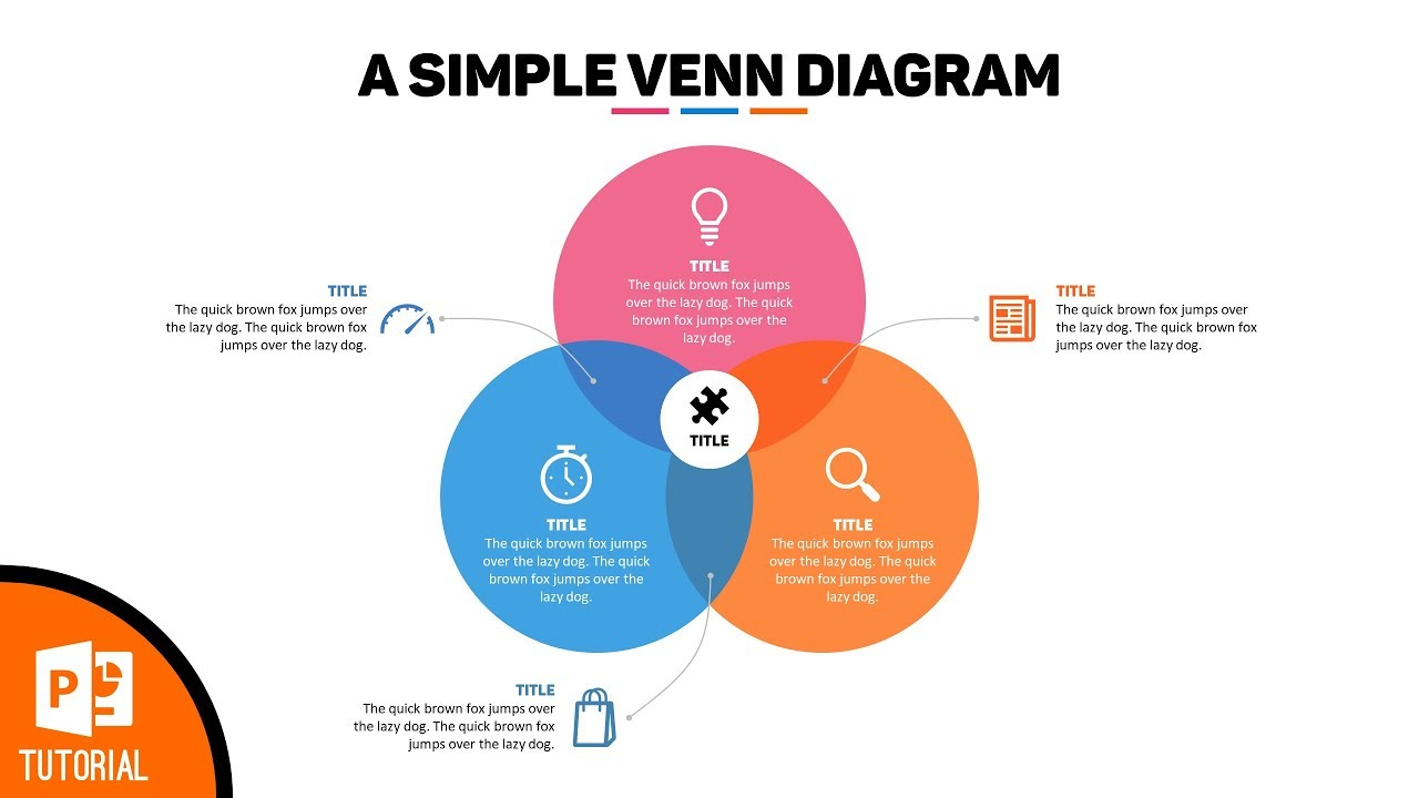 here s how to make a stunning venn diagram in powerpoint [ 1280 x 720 Pixel ]