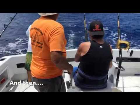 Fishing Charter In Kailua Kona Hawai'i | The Night Runner Fishing Boat | Marlin Catch Of The Day!