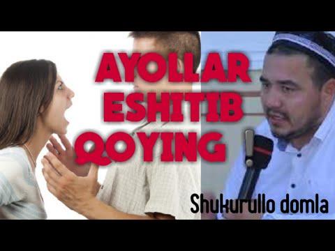 SHUKURULLO DOMLA -