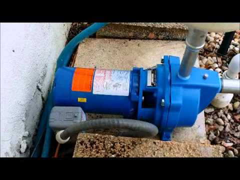 Venice Goulds Shallow Well Pump Youtube