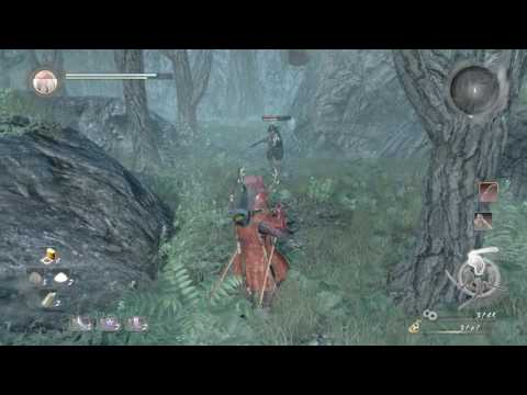 Nioh Get to Second Shrine Save Point Deserted Fishing Village