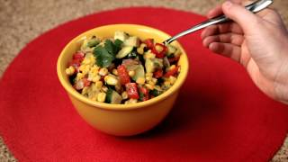 How To Make Corn Avocado Salad - #12 - Slicing And Juicing A Lemon — Appetites®