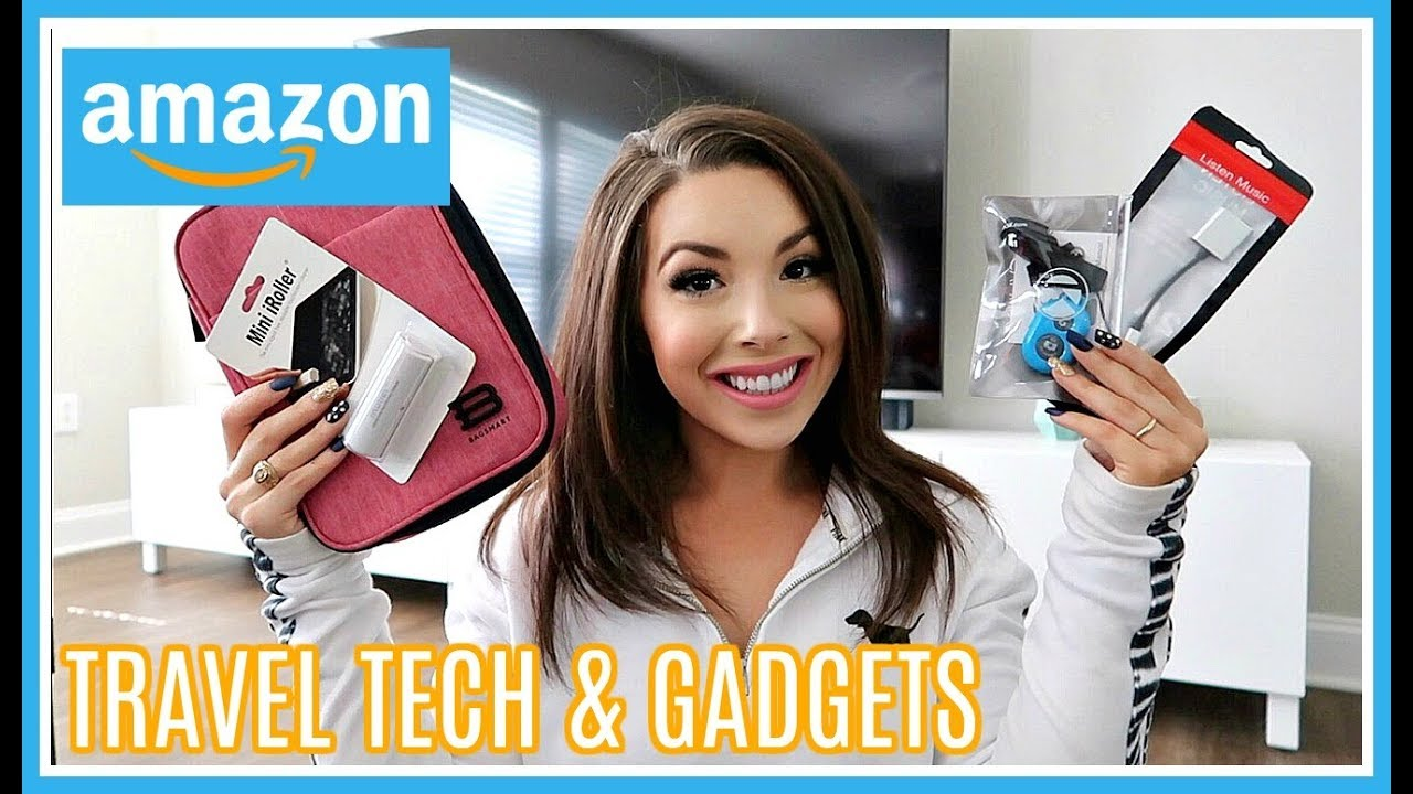 Amazon Haul | THE TOP Travel Tech & Gadgets YOU NEED in 2019