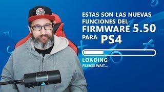 Esto es lo que trae el Firmware 5.50 de PS4