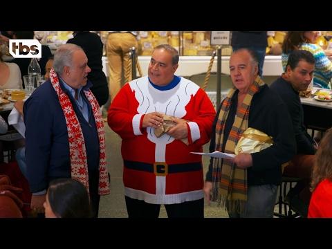 The Sopranos Sing 'Silent Night'  SURPRISE! INSTANT XMAS CAROL!  TBS