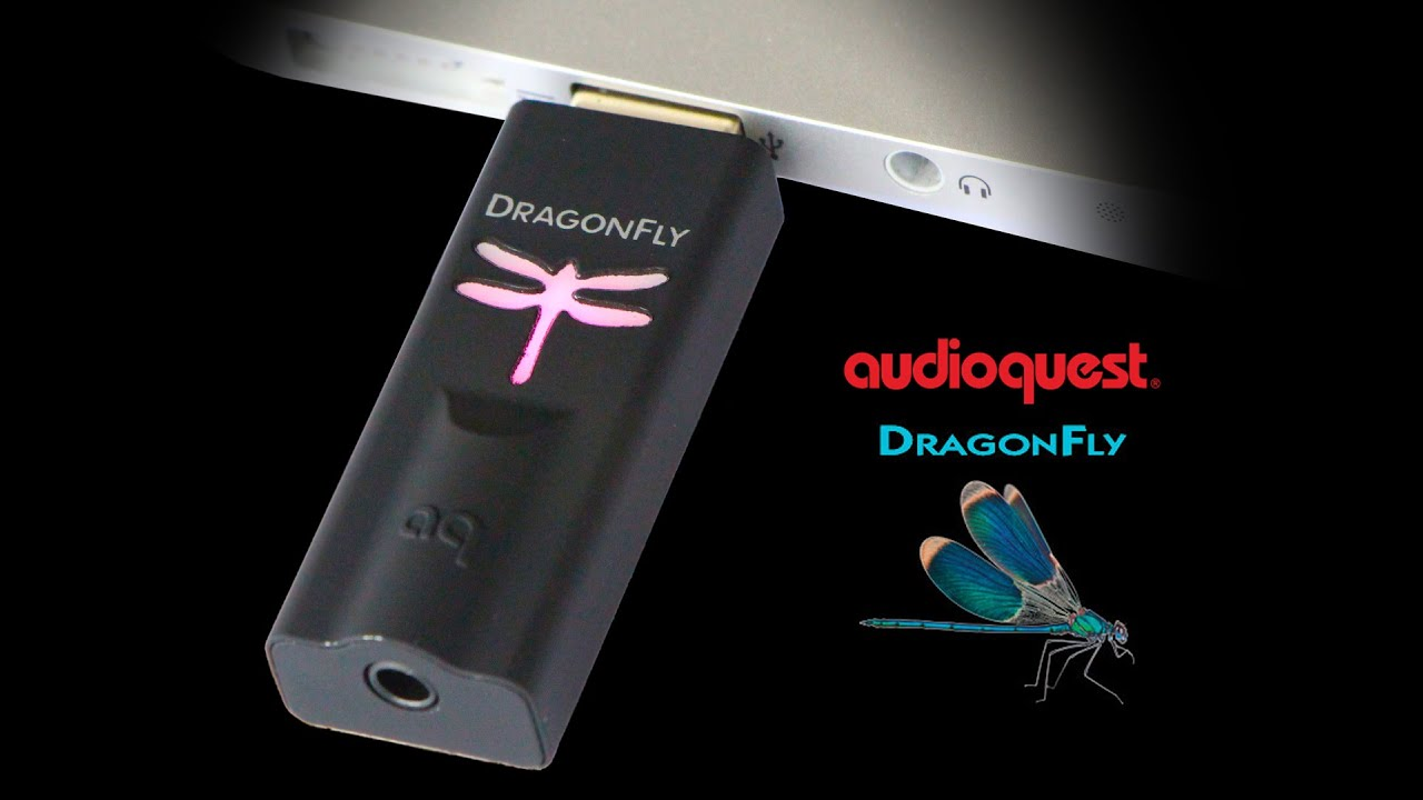 28463d5b304 AudioQuest Dragonfly 1.2 USB DAC review - YouTube
