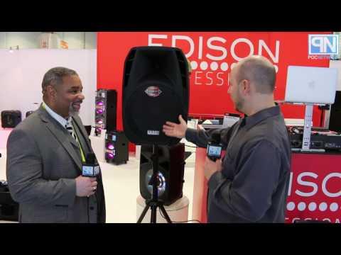 Edison Professional Active Speaker System