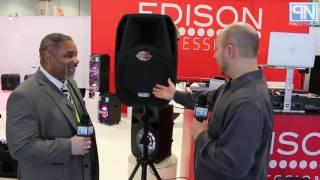 Edison Professional - M-2000 Plus Powered Pa Speaker - Ces 2017 - Poc Network