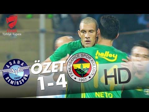 Adana Demirspor - Fenerbahçe Maçı Özeti