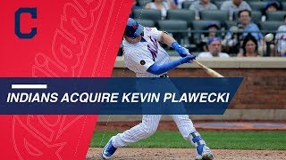 Indians trade for Kevin Plawecki from the Mets