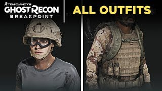 Ghost Recon Breakpoint - All Outfits (Accessories/Clothes/Gears/Tattoo)