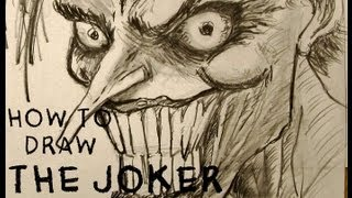 Ep. 17  How to draw the Joker Part 2 of 3