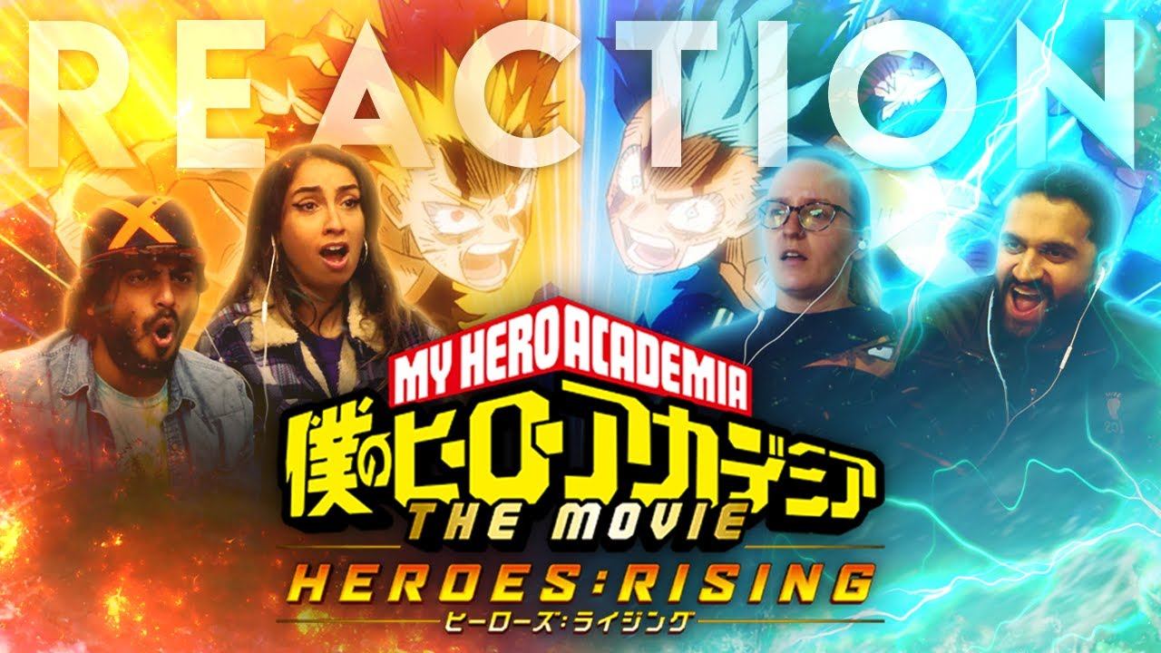 Download My Hero Academia - Heroes Rising - Group Reaction