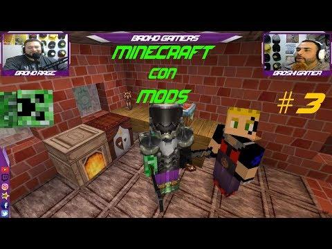 Minecraft Con Mods #3 (Dia de Crafteo)!!!