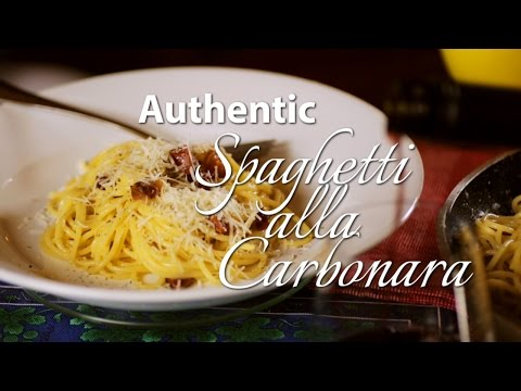 Spaghetti alla Carbonara - Most authentic Italian recipe! How to make the real Carbonara