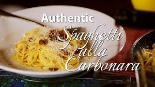Spaghetti alla Carbonara - Most authentic Italian recipe! How to make the real Carbonara
