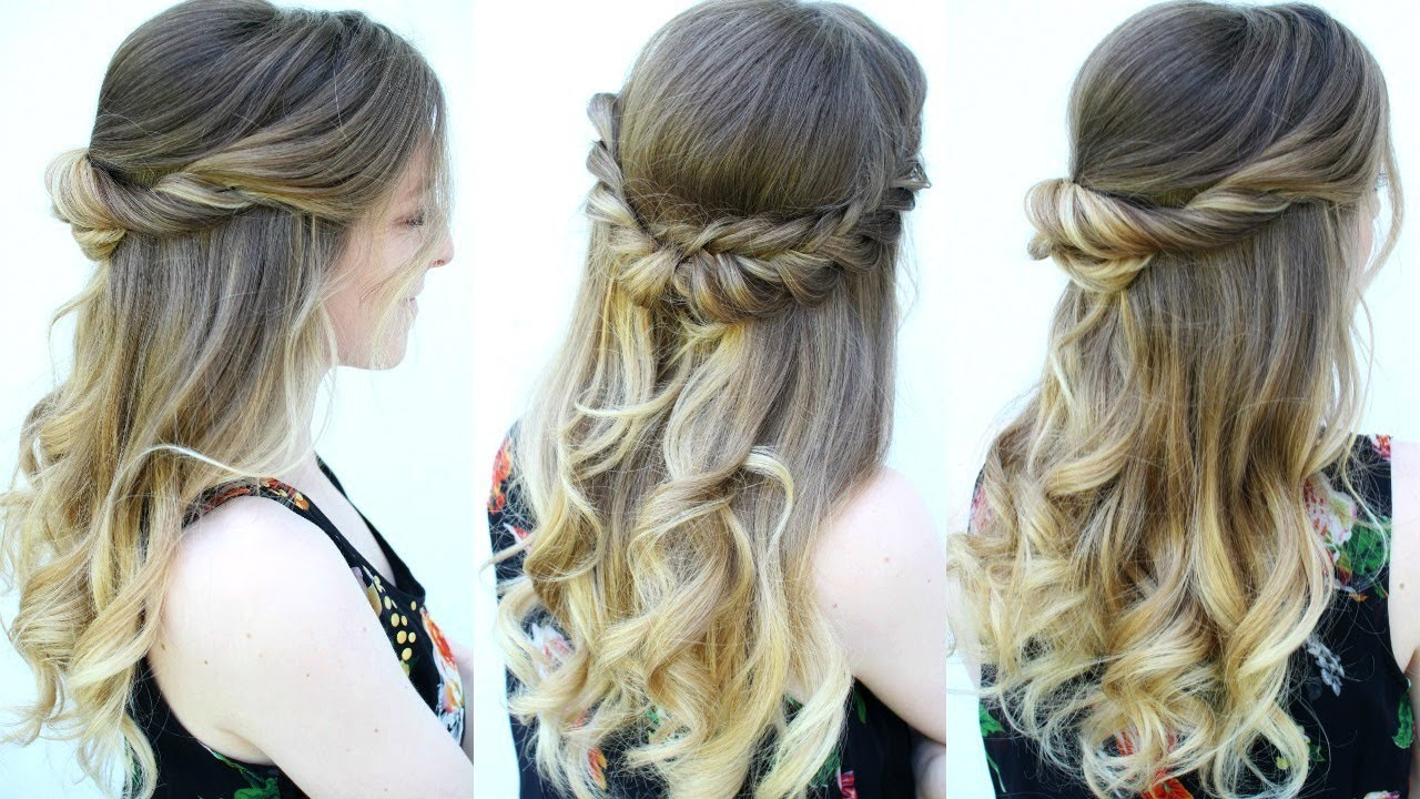 2 diy graduation hairstyle ideas 2018 | braidsandstyles12
