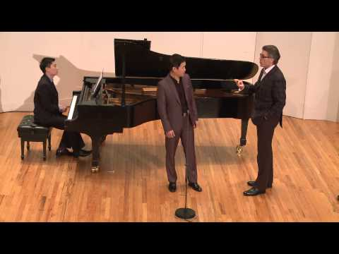 2015 Thomas Hampson Voice Masterclass