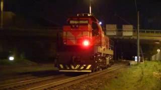 тепловозы ц36 7и и тэм тмх близ о п китсекюла ge c36 7i and tem tmh locomotives near kitsekla