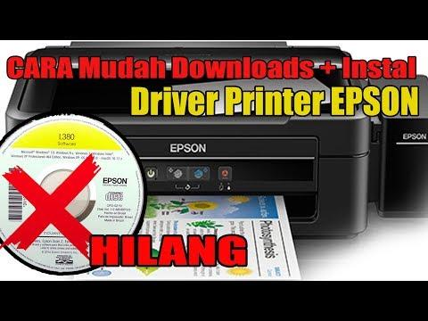 CARA INSTALL DRIVER PRINTER EPSON L120 DI KOMPUTER/LAPTOP.