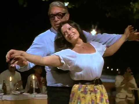 Anthony Quinn and Zozo Sapountzaki. Dance.