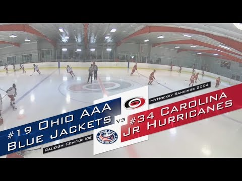MyHockey Rankings Game Of The Week 10.8.18, 2004 Ohio Blue Jackets Vs Carolina Jr Hurricanes