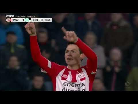 Asi fue el DOBLETE de Hirving Lozano vs Groningen (HD) 2019