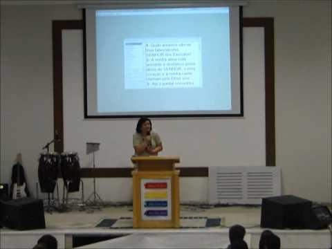 Pregação Pastora Maria de Lourdes Stefan