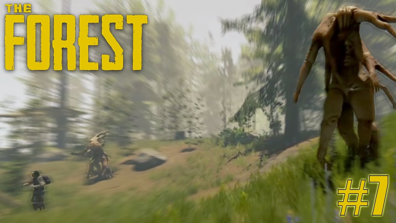 #7 ON SE FAIT ATTAQUER | THE FOREST | LET'S PLAY FR