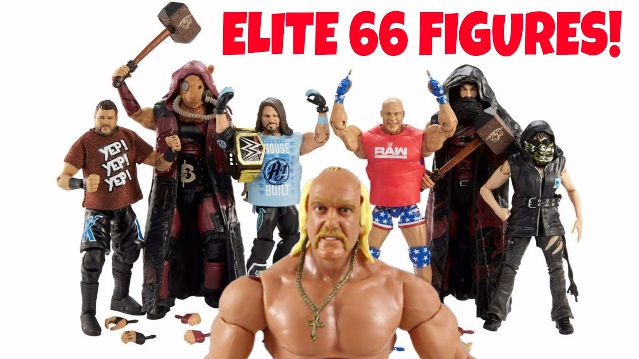 2wwe hulk hogan elite action figure