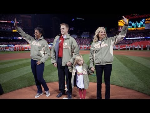 Travels with The First Lady: Joining Forces at The World Series
