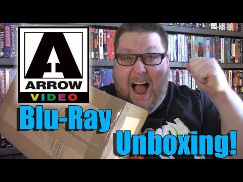 Arrow Video UK Blu-ray Unboxing!