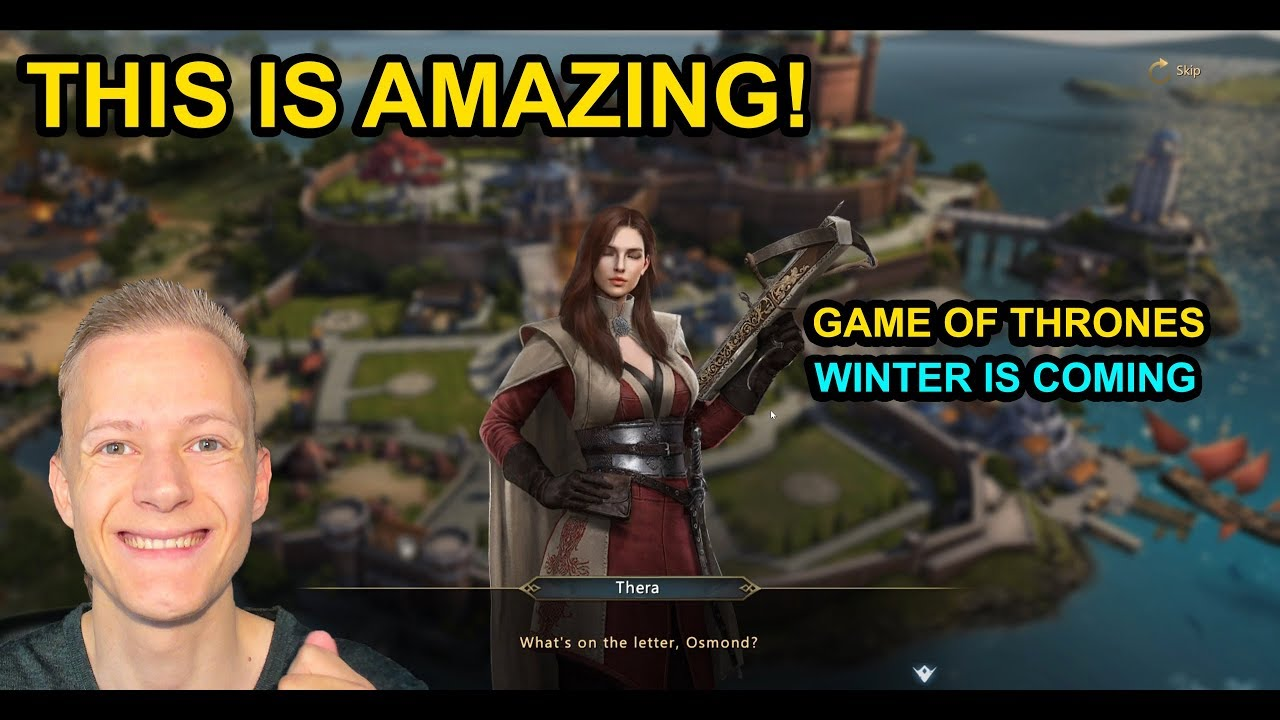 I Love This Game Already Game Of Thrones Winter Is Coming 1