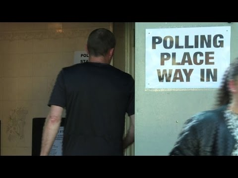 Scottish voters cast their ballots in EU referendum