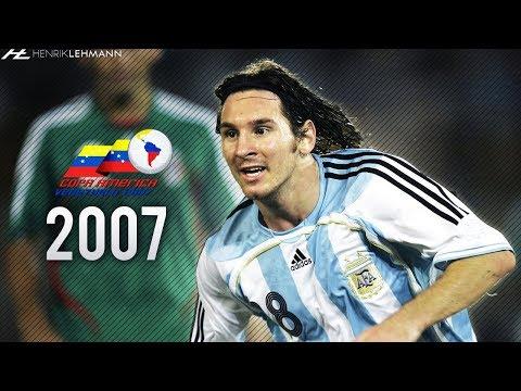 Lionel Messi ● Copa América ● 2007 HD