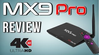 MX9 Pro Rockchip RK3328 Quad Core Android 7.1 4K TV Box Review with Benchmarks