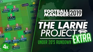 THE LARNE PROJECT EXTRA: S1 E4X - The Development Side | Football Manager 2019 Let's Play #FM19