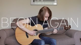 Taylor Swift - Begin Again - Fingerstyle Guitar Cover by James Bartholomew