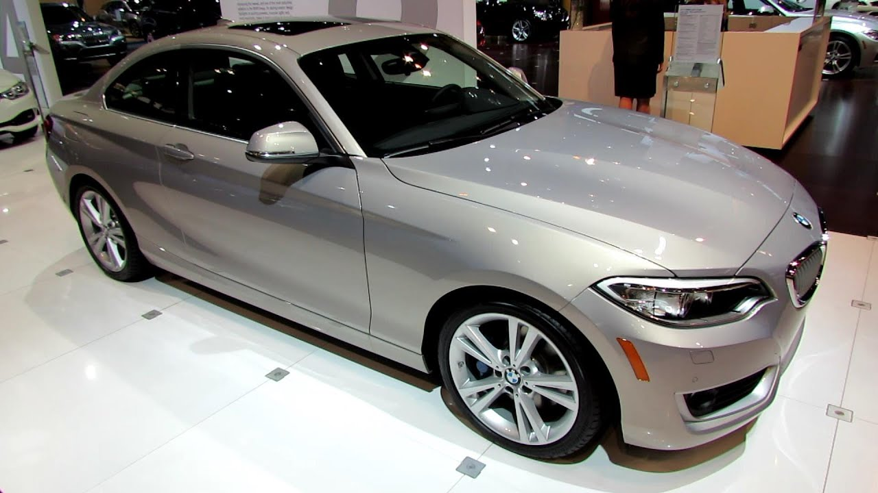 2015 BMW 228i Coupe  Exterior and Interior Walkaround 2014