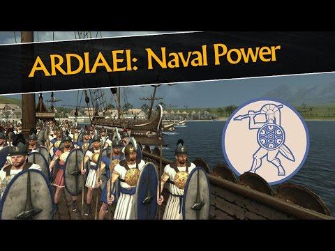 Total War: Rome 2  Naval Power of the Ardiaei
