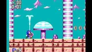 Sonic the Hedgehog 2 (Master System): Aqua Lake Zone Act 1 [1080 HD]