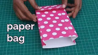 How to make paper bag at home | paper shopping bag  craft ideas Handmade at home