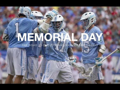 Memorial Day | The 2016 Division I Mens Lacrosse National Championship Highlights