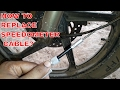 Installing/Replacing Speedometer cable of HERO MOTORCYCLES