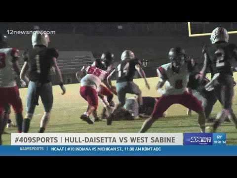 West Sabine High School beats Hull-Daisetta High School 22 - 6