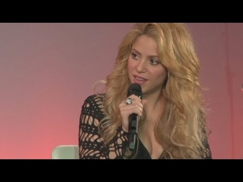 Shakira Interview: Singer talks about her son Milan at album launch