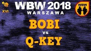bitwa Q-KEY vs BOBI # WBW 2018 Warszawa (baraż) # freestyle battle